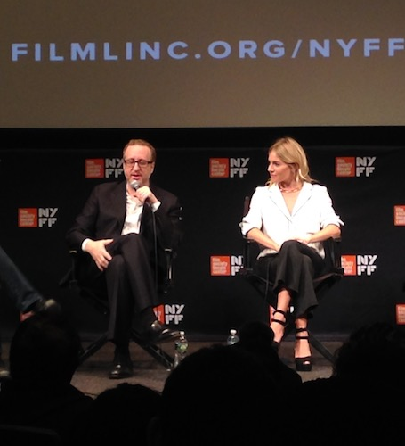James Gray Sienna Miller The Lost City of Z Panel NYFF 2016