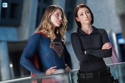 Melissa Benoist Alex Chyler Survivors Supergirl