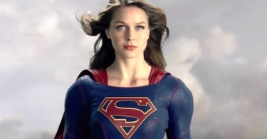 Melissa Benoist In Flight Supergirl