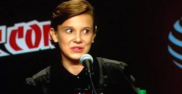Millie Bobby Brown Stranger Things New York Comic Con