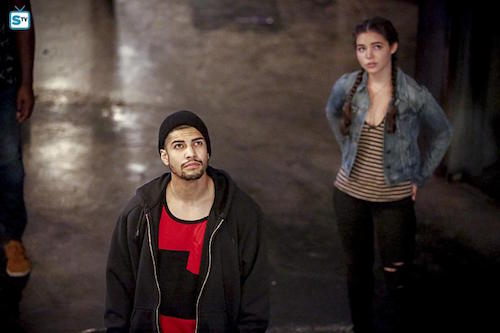 Rick Gonzalez Madison McLaughlin The Recruits Arrow