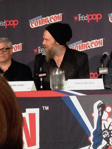 Ryan Hurst Outsiders Panel NYCC 2016