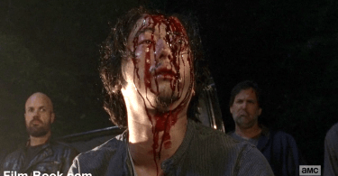 Steven Yuen Blood Disfigured The Walking Dead The Day Will Come When You Won't Be