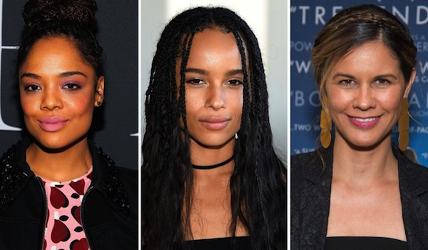 Tessa Thompson Zoe Kravitz Naomi Scott