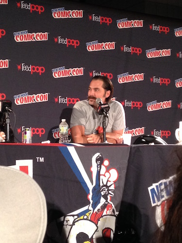 Tim Rozon Wynonna Earp Panel NYCC 2016