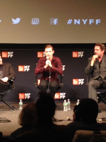 Tom Holland The Lost City of Z Panel NYFF 2016