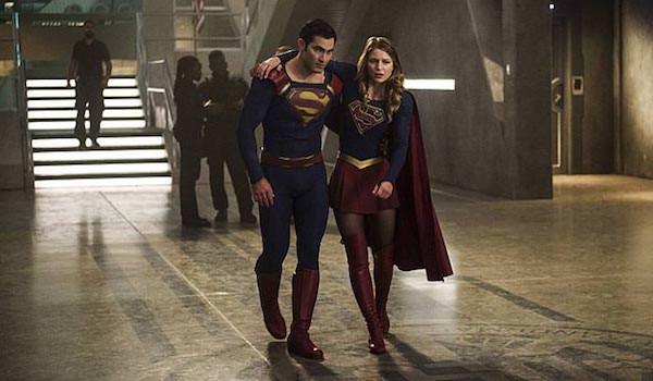 Tyler Hoechlin Melissa Benoist The Last Children of Krypton Supergirl