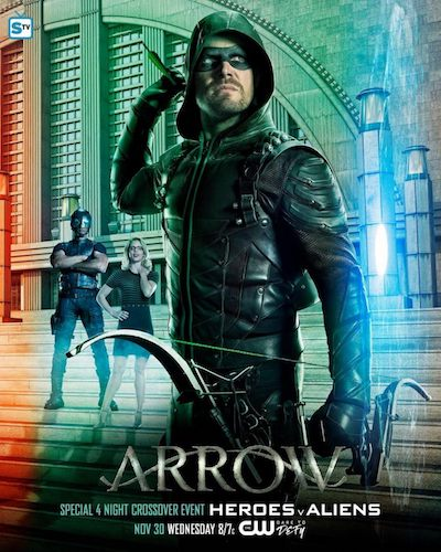 Arrow Crossover Poster