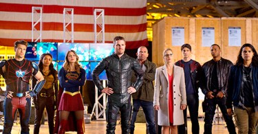 Arrowverse Crossover Photo 1