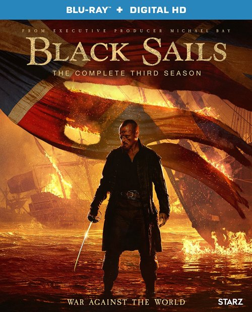 Black Sails Season 3 Blu-ray Cover