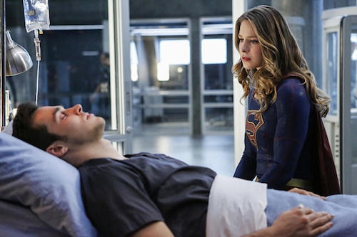 Chris Wood Melissa Benoist Medusa Supergirl