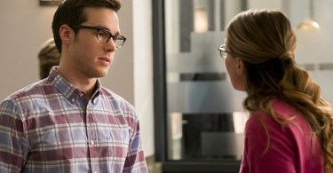 Chris Woods Melissa Benoist Crossfire Supergirl