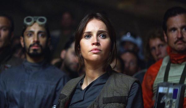 Felicity Jones Riz Ahmed Rogue One: A Star Wars