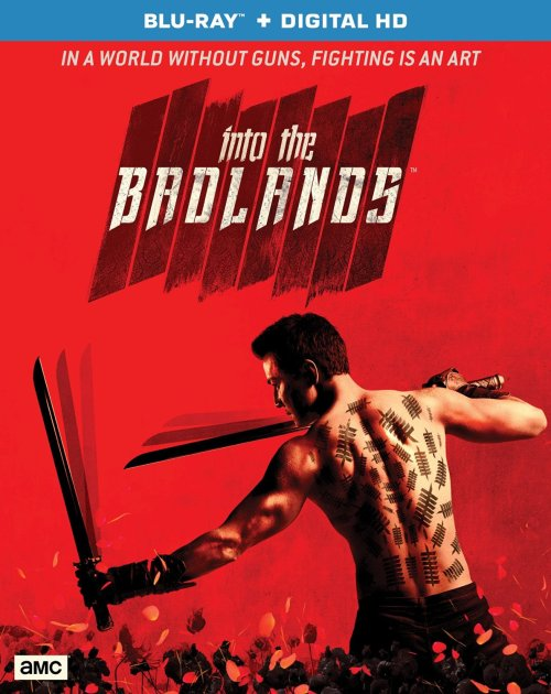 Into the Badlands Blu-ray Cover