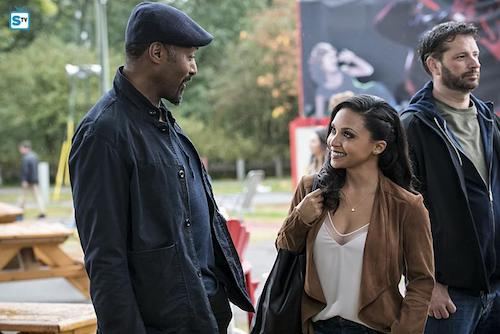 Jesse L. Martin Danielle Nicolet Shade The Flash