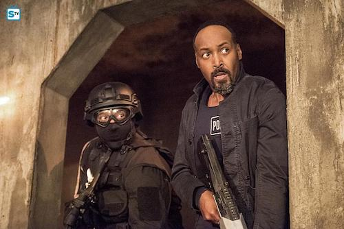 Jesse L. Martin Shade The Flash