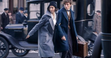 Katherine Waterston Eddie Redmayne Fantastic Beasts and Where to Find Them