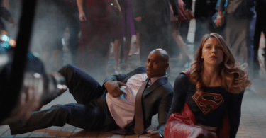 Mehcad Brooks Melissa Benoist Crossfire Supergirl Trailer
