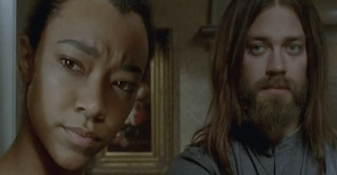 Sonequa Martin-Green Tom Payne The Walking Dead Go Getters