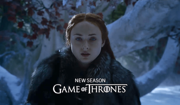 Sophie Turner Gam of Thrones: Season 7