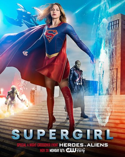 Supergirl Medusa Crossover Poster