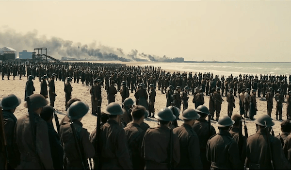 Allied Soldiers Dunkirk France Beach