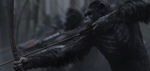Bows Arrows War for the Planet of the Apes
