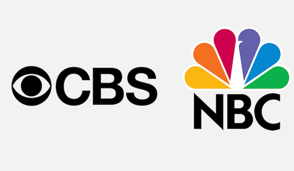 CBS NBC Logos