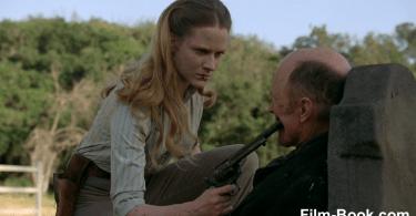 Ed Harris Evan Rachel Wood Six Shooter Westworld The Bicameral Mind