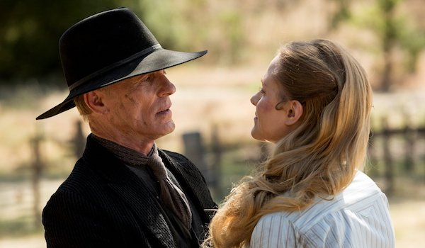 Evan Rachel Wood Ed Harris Westworld The Bicameral Mind
