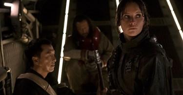 Felicity Jones Donnie Yen Wen Jiang Rogue One: A Star Wars