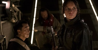 Felicity Jones Donnie Yen Wen Jiang Rogue One: A Star Wars