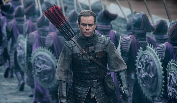 Matt Damon The Great Wall