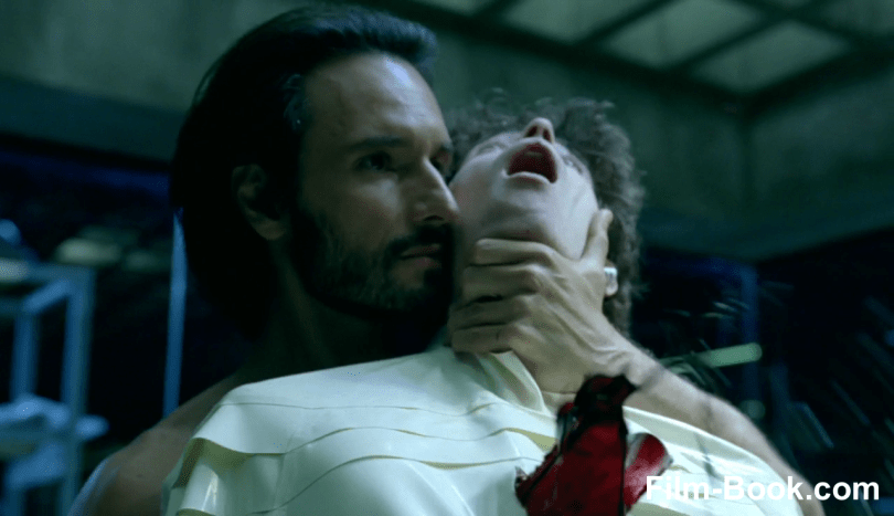 Rodrigo Santoro Stabbing Christopher Gerse Westworld The Bicameral Mind