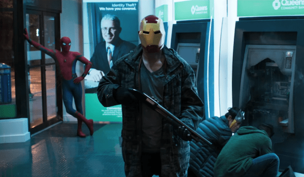 Tom Holland Bank Robbery Spider-Man: Homecoming