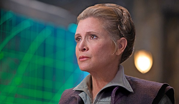 Carrie Fisher Star Wars The Force Awakens