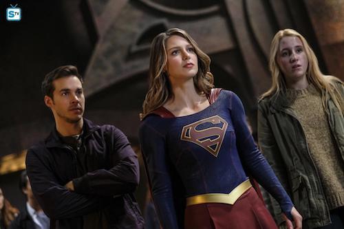 Chris Wood Melissa Benoist Harley Quinn Smith Supergirl Lives Supergirl