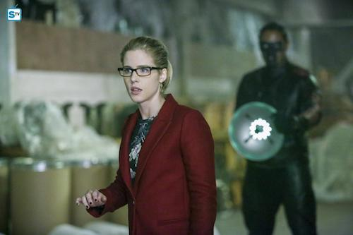 Emily Bett Rickards Echo Kellum Who Are You? Arrow