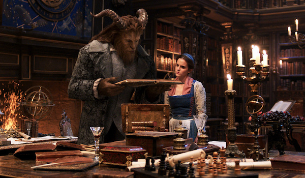 Emma Watson Dan Stevens Beauty and the Beast