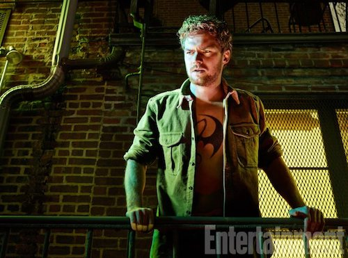 Finn Jones The Defenders EW Shoot