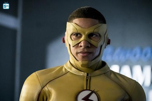 Keiynan Lonsdale Borrowing Problems From The Future The Flash