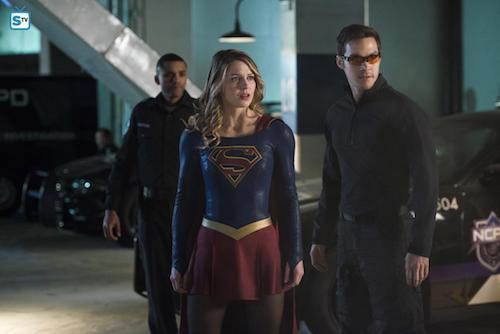 Melissa Benoist Chris Wood We Can Be Heroes Supergirl