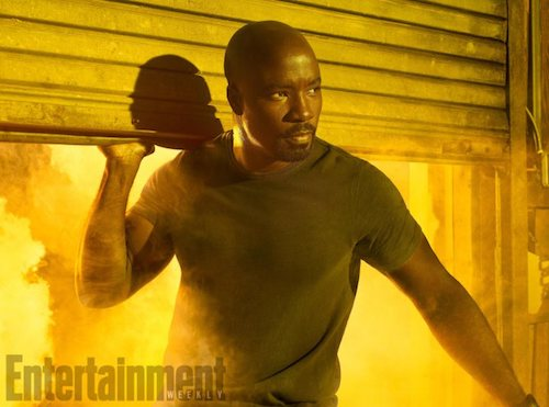 Mike Colter The Defenders EW Shoot