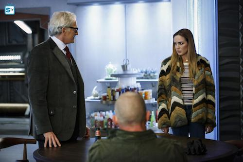 Victor Garber Dominic Purcell Caity Lotz Raiders of the Lost Art Legends of Tomorrow