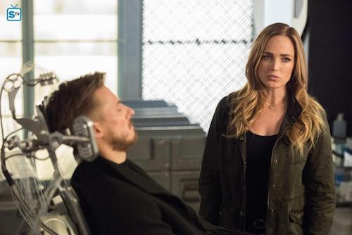 Arthur Darvill Caity Lotz Land of the Lost Legends of Tomorrow