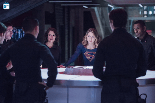 Chyler Leigh Melissa Benoist David Harewood Martian Chronicle Supergirl