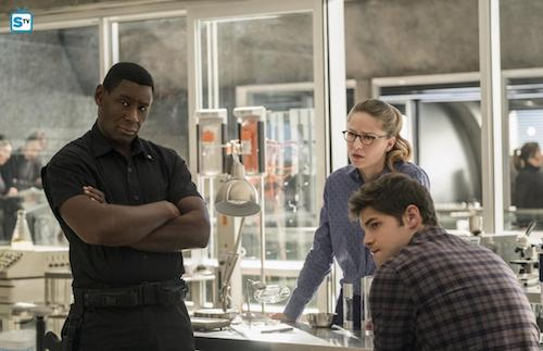 David Harewood Melissa Benoist Jeremy Jordan Luthors Supergirl