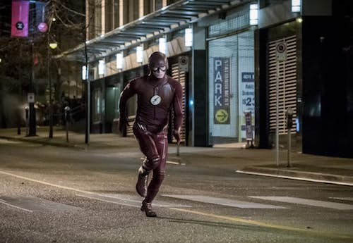 Grant Gustin Attack on Central City The Flash