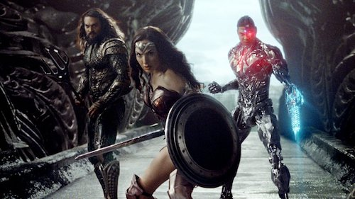 Jason Momoa Gal Gadot Ray Fisher Justice League