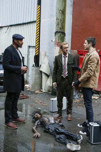 Jesse L. Martin Tom Felton Grant Gustin Untouchable The Flash